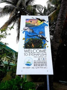 New Biosphere Reserve Poster on Eydhafushi